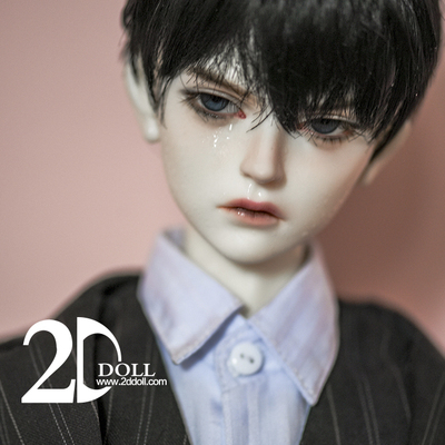 taobao agent 2D 68cm uncle bjd doll male baby Ling Yu(LingYu)2ddoll official genuine doll