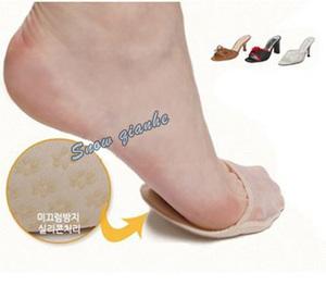5 cặp chống trượt chống đau chân vô hình nửa vớ của phụ nữ nửa ngón chân vớ mùa xuân nông miệng ngắn vớ nửa ngón chân vớ