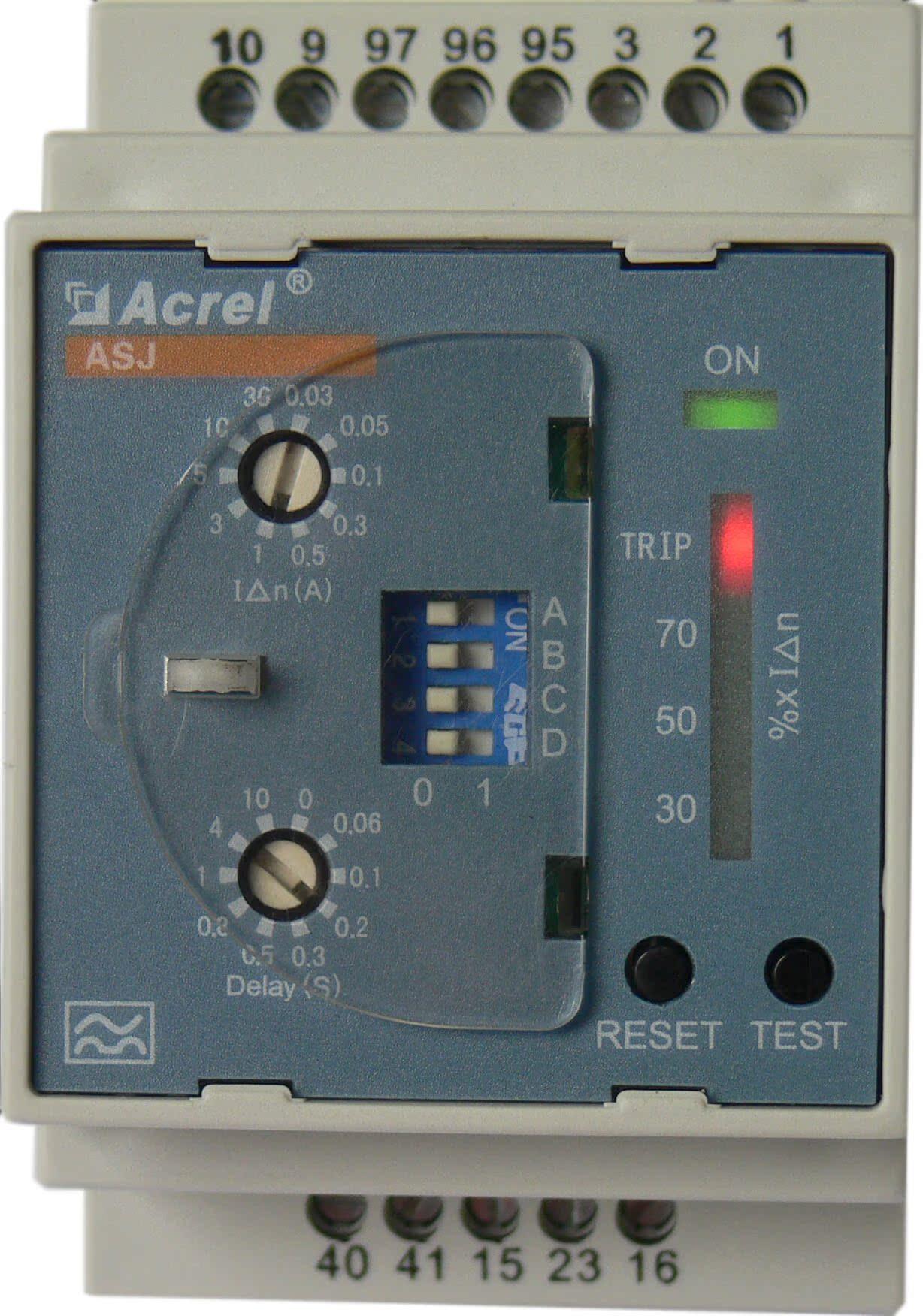 安科瑞ASJ10-LD1A剩余电流继电器