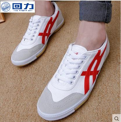 Chính hãng kéo trở lại giày nam mùa hè thoáng khí table tennis thể thao nam giới và phụ nữ canvas đào tạo mang giày gân giày dưới 27A