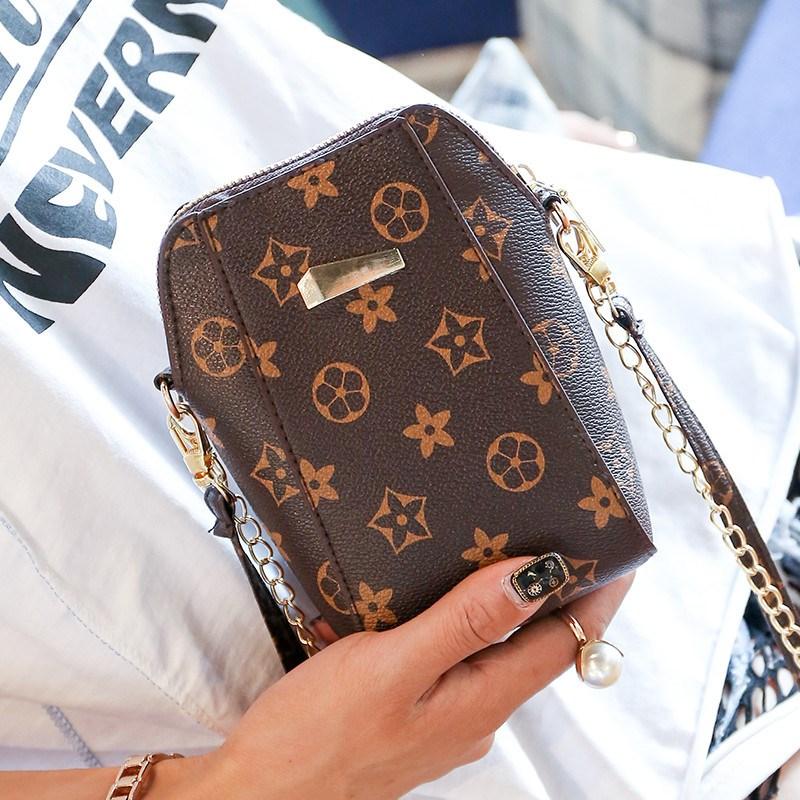 Túi nhỏ nữ túi chuỗi thời trang hoang dã 2017 mới túi điện thoại di động nữ Messenger bag Hàn Quốc phiên bản của triều purse mini
