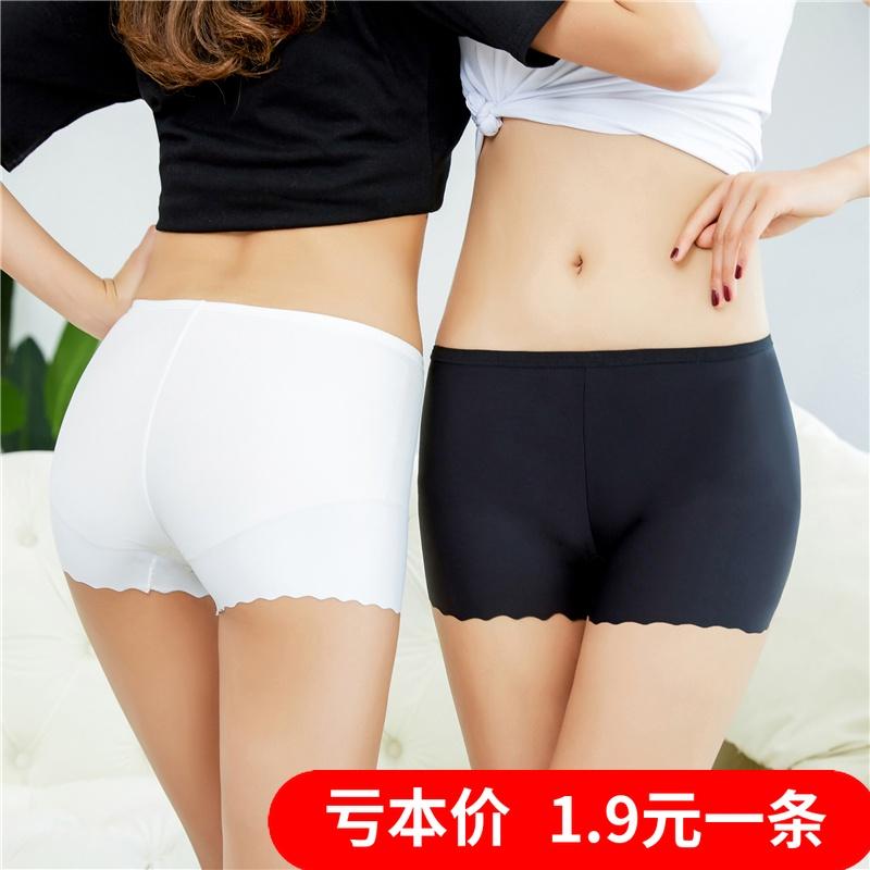 Bông an toàn quần của phụ nữ bông chống ánh sáng xà cạp ba điểm bảo hiểm quần mùa hè sinh viên boxer shorts
