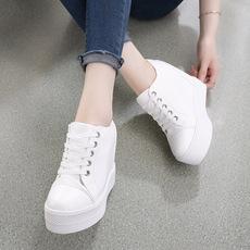 2018新款女鞋内增高女小白鞋,货号AA300a