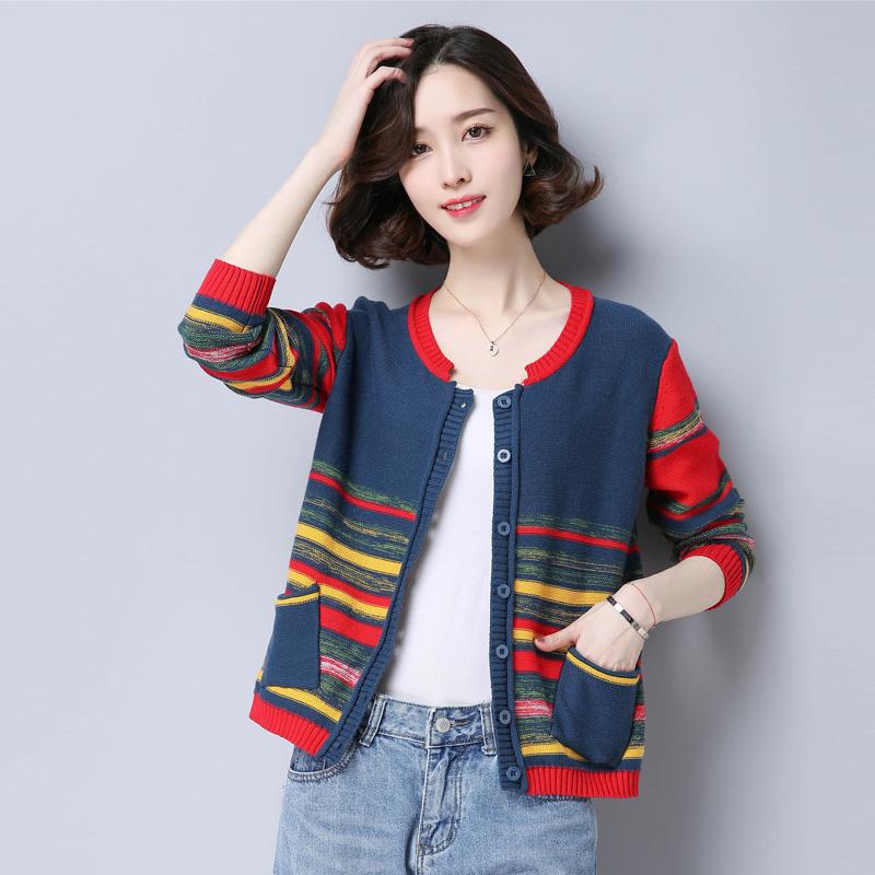 品牌内搭羊毛衫条纹冬季<font color='red'><b>外套</b></font>针织毛衣
