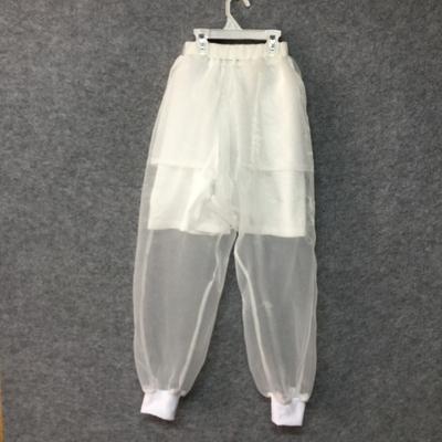 Quan điểm trắng organza, lỏng lẻo chân hậu cung quần, thiết kế ban đầu menswear thương hiệu