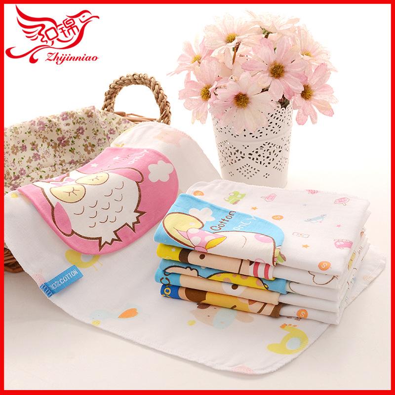 Phổ biến thổ cẩm chim cách nhiệt gạc bà mẹ và trẻ em mẫu giáo nhiều lớp sản phẩm em bé khác mồ hôi khăn