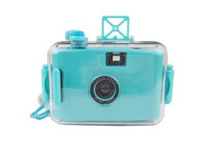 Máy ảnh không thấm nước LOMO Trường hợp dày siêu dễ thương không thấm nước 4 mét Lựa chọn nhiều màu sắc Cyan