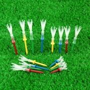 4 yard golf hai màu giới hạn bóng nail nhựa bóng TEE 16 stick cấp bằng sáng chế sản phẩm