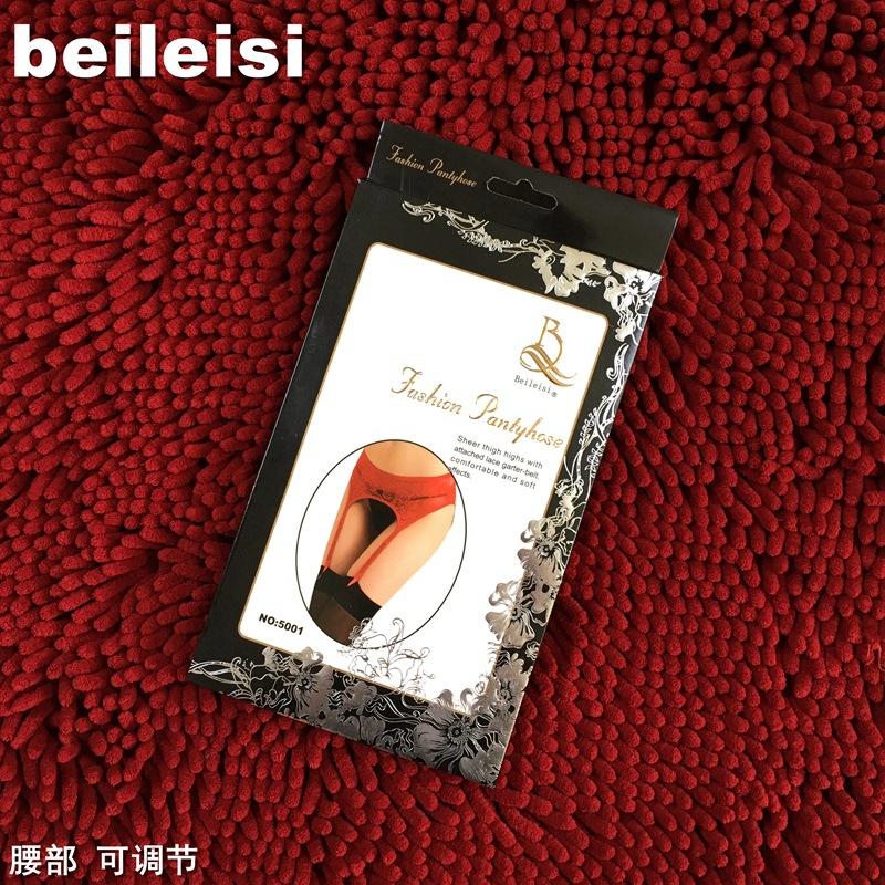 Beileisi garter 5001 đồ lót sexy vớ vớ thiết lập chính hãng ren