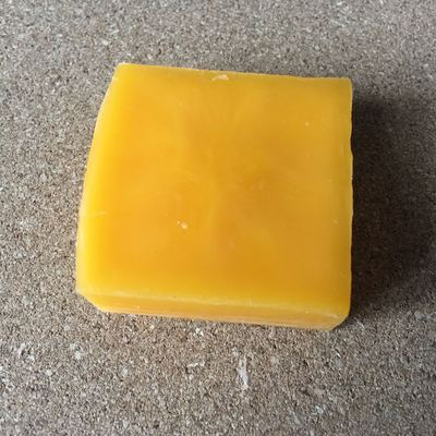 taobao agent DIY leather tool yellow beeswax line cutting wax needle wax pure natural beeswax cube 20g
