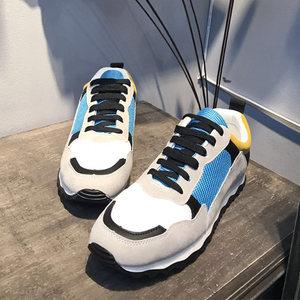 @右先生文藝 夏季2018新款男士運動鞋韓版潮流鞋子學生低幫休閑鞋