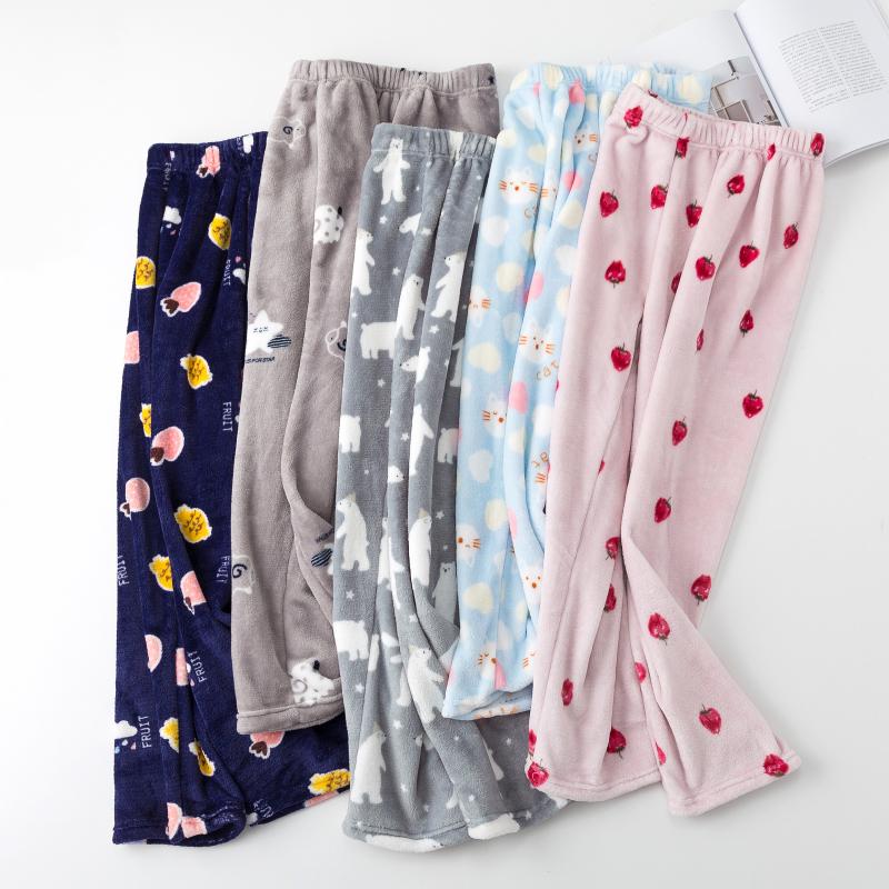 热销561件五折促销仙女暖暖裤珊瑚绒睡裤