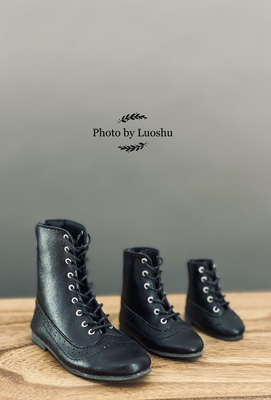 taobao agent Uncle Luo's bjd doll shoes soft leather short boots 6 points 4 points 3 points and uncle size three pairs