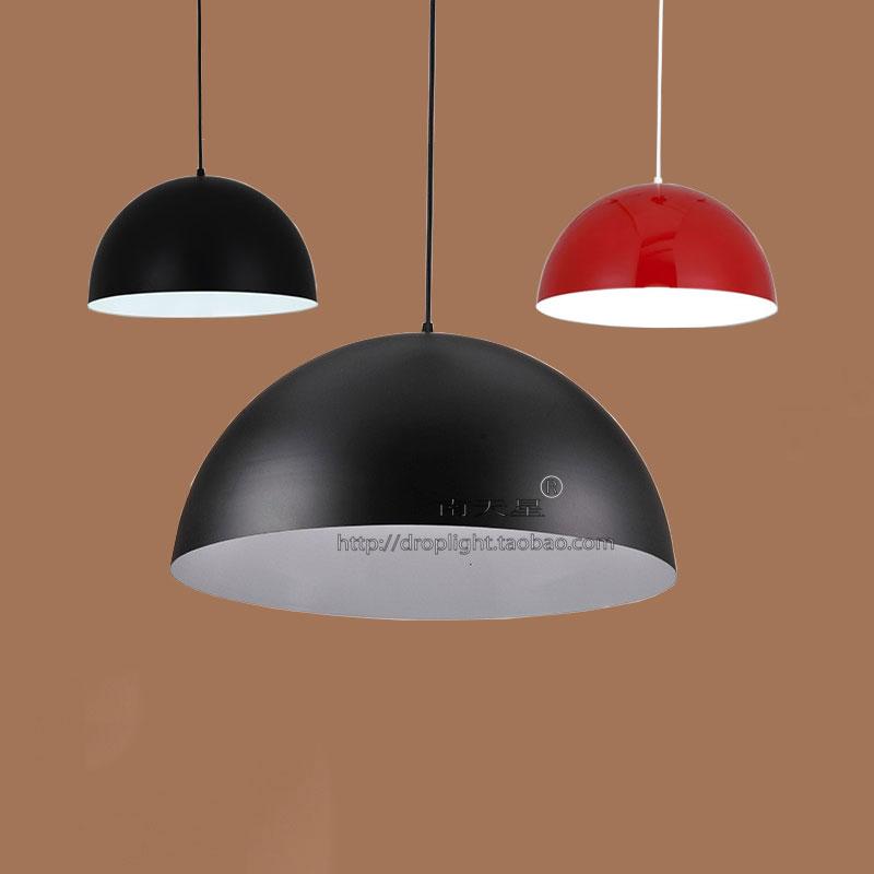 面包店蛋糕店装饰灯创意北欧灯具餐厅个性单头黑色歺吊灯吧台灯