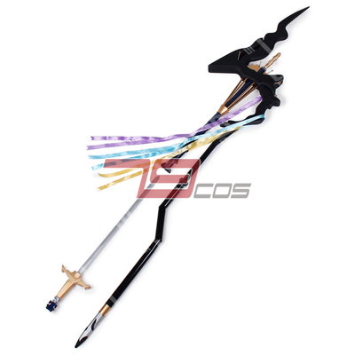 taobao agent Fate Grand Order Merlin Staff COSPLAY Props Customized 1586