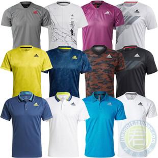 Adidas теннис одежда мужчина 2021 год при этом размер строка муж / стебель гувернантка австралия чистый франция чистый движение короткий рукав T футболки GQ2220