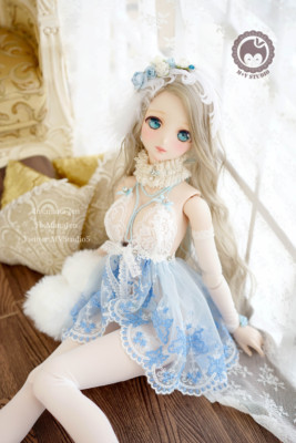taobao agent 【Meow House】-Jinghua-Gorgeous palace cute sexy lingerie pajamas DD3 points BJD baby clothes sold out display
