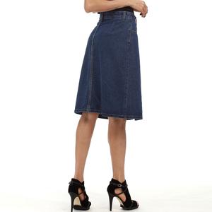 實拍 牛仔裙歐美eBay速賣通亞馬遜外貿大碼女裝高腰半身裙5001