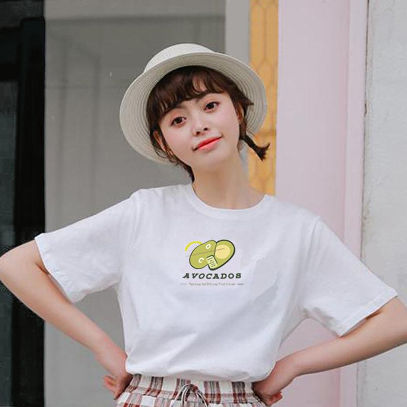 【拍2件20元】女士纯棉T恤短袖