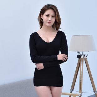 修身塑型美体保暖上衣舒适弹力贴身