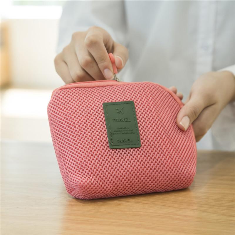 Du lịch di động sạc đĩa cứng di động U đĩa tai nghe phụ kiện dòng dữ liệu hoàn thiện gói chống sốc kỹ thuật số lưu trữ túi