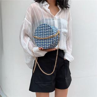 Франция небольшой многие пакет пакет сумки 2019 новый волна мода популярный сумка сумку сумочку маленькие круглые пакет