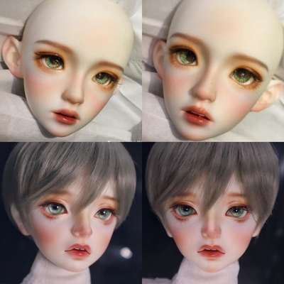 taobao agent Makeup Artist of Sweet Wine Castle-Little Peach Blossom◆BJD/SD Pink Makeup Face【Makeup only plus purchase】