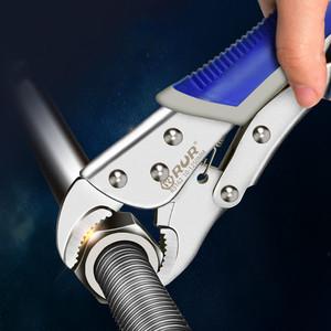 大力钳多功能万用万能钳子压力钳手动夹钳固定工具大力钳C型钳子