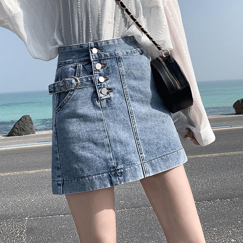 短裙女2020夏季新款韩版高腰裙半身裙