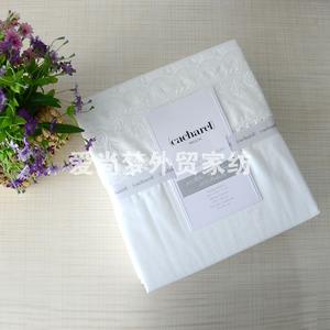 Giải phóng mặt bằng Tây Ban Nha bông thêu ren trắng bốn mảnh gối giường, tấm không chứa quilt giải phóng mặt bằng