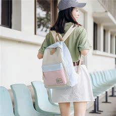 书包女 背包 双肩包ins大学生装书个性可爱小清新韩国学院风 森系