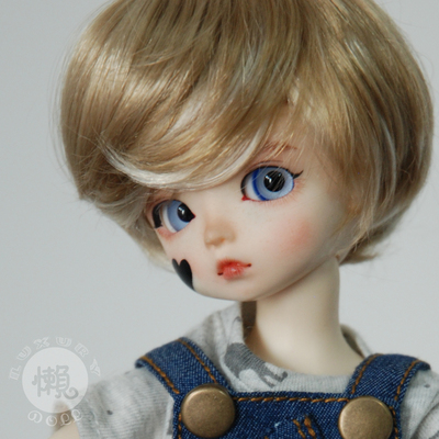 taobao agent Bjd doll sd doll male and female baby wig 6 8 12 points daily service short hair good imitation mohair-zhengtai