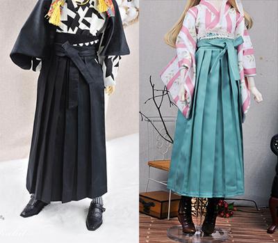 taobao agent 3 points 4 points male and female BJD [walking lamp hakama] baby clothes Japanese kimono Taisho era Taisho romance multicolor TS001