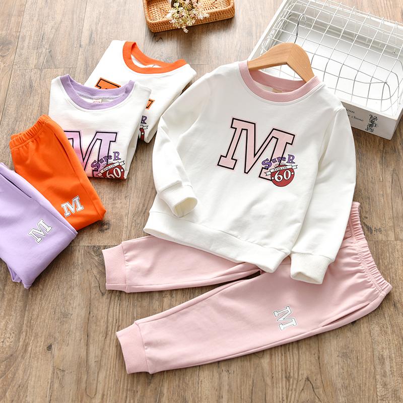 Quần áo bé gái 2019 phù hợp với mùa thu và mẫu mùa thu 2 bé gái 4 mùa thu 3 tuổi trẻ em nước ngoài áo len trẻ em 6 - Phù hợp với trẻ em