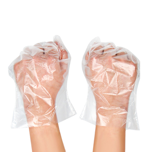 100 disposable food gloves