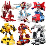 Mô hình Bumblebee cột mini xe robot Megatron Tối ưu từng bước biến dạng va chạm đồ chơi King Kong - Gundam / Mech Model / Robot / Transformers