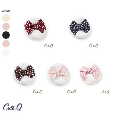 taobao agent 【Four groups】2021.4.1 Little navy beret CuteQ original Lolita accessories polka dot bow hat