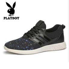 品牌男鞋夏季运动鞋透气跑步鞋韩版潮流英伦百搭休闲旅游鞋潮鞋