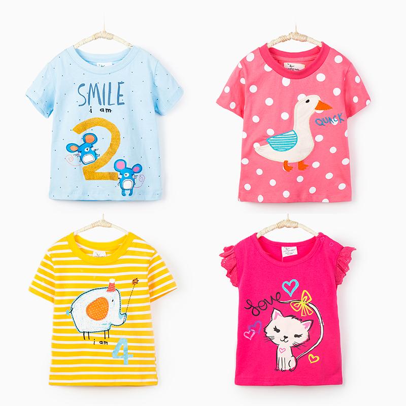 夏季薄款短袖T恤休闲套头宝宝优惠价5元销量111件