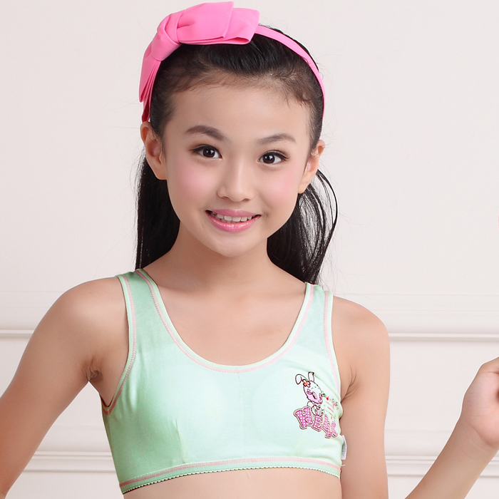 894d2718a87e4 authentic sen drum girls top cotton cartoon children underwear childrens  sling girl development bra