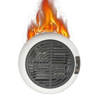 暖风机家用取暖器插电加热热风