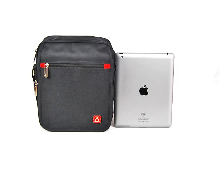 ALI Male Business Bag Shoulder Sports Sports Bag Vali Flat Ipad Bag Không thấm nước Túi vải Oxford - Túi của con người