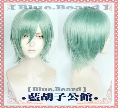 taobao agent 【Blue beard】Idol Dream Festival 2 ALKALOID Kazuyaya Tatsumi ES cos Wig