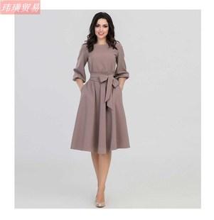2019 Autumn Casual Dress For Women Party Ladies Long Dresses