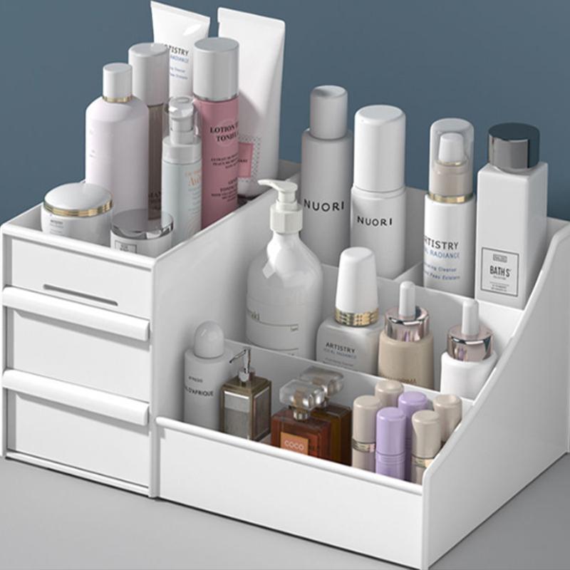 化妆品收纳盒大号梳妆台桌面