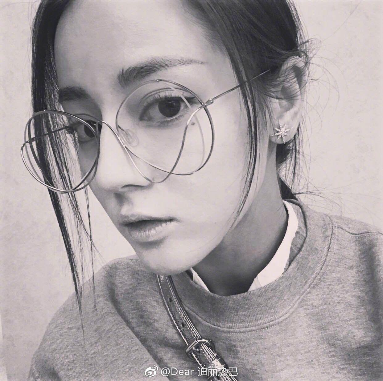 2017 vào cùng một đoạn với cá tính của rỗng có thể được trang bị kính cận thị khung retro Dili hot bar gương phẳng xu hướng nữ