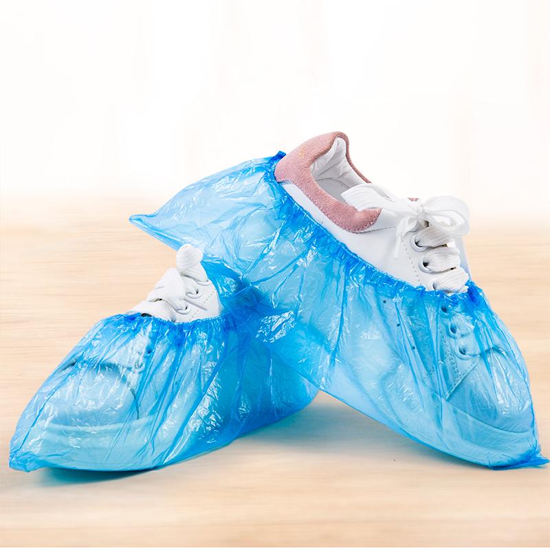 【一百只】防病毒脚套一次性塑料鞋套