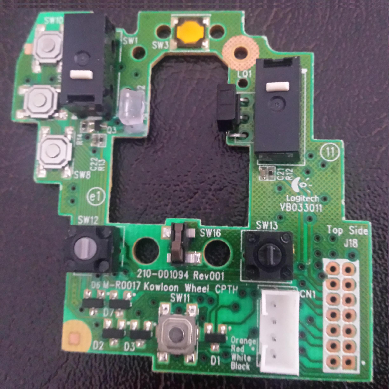 10 04] Logitech/Logitech G700S original upper circuit board