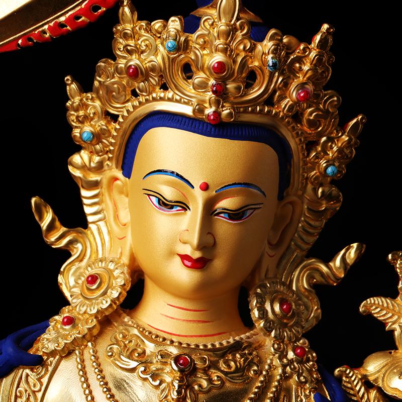 Phật Giáo tây tạng Nguồn Cung Cấp Tôn Giáo Phật Giáo Seiko Hoàng Đế Đầy Đủ Vàng Đồng Nguyên Chất Tantra Phật Hình Ảnh Văn Thù Bồ Tát ...