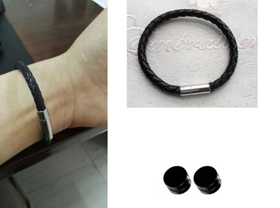 taobao agent COS props love and producer Bai Qi earrings bracelet